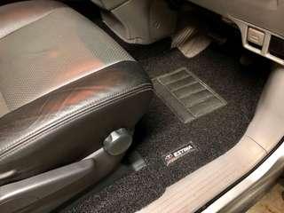 Estima customized car mat