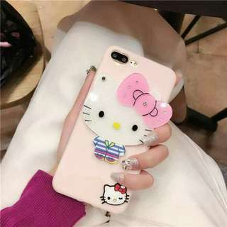 HELLO KITTY CP CASE WITH MIRROR  For: 📲Iphone 6 | 6 Plus