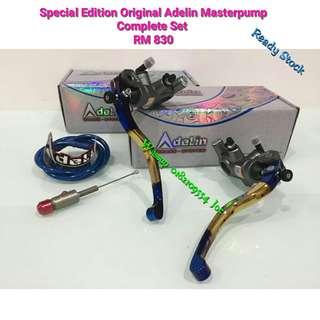 Special Edition Original Adelin Masterpump Complete Set