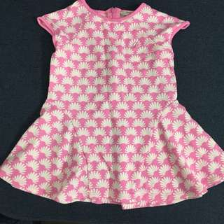Poney Pink Dress 1-2Y