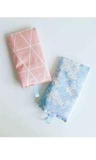 Handmade Reversible Baby Carrier Drool Pads