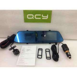 QCY A75 Touch Screen Dual Dash Camera