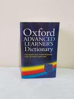 Buku kamus oxford dictionary ori