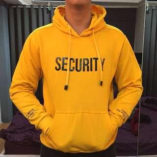 Hoodie security x justin bieber