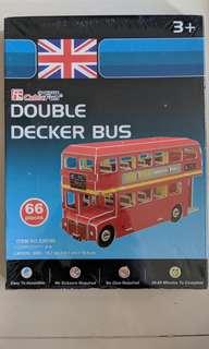 3D Double Decker London Bus
