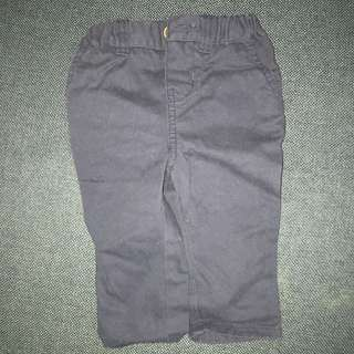 Blue chinos for baby boy 6-9 months