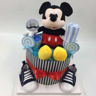 Best Buy!! Micky Mouse Diapers Cake - Promotion till end April
