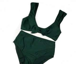 2 Piece high waist Swimwear