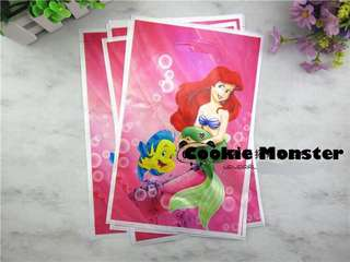 💕 Little Mermaid Ariel Party Supplies - goodie bag/ loot bags/ party Bags/ piñata bags