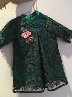 Baju Kurung Raya Baby 2yo