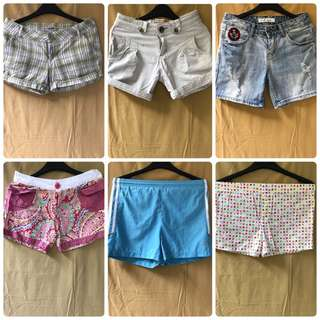 Shorts Bundle (w/ Folded and Hung and Adidas)
