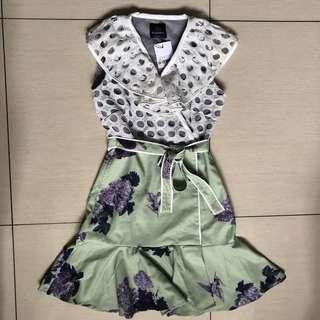 Plains and Prints Grapes dress