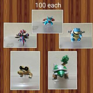 Tomy Pokemobs(100 Each)