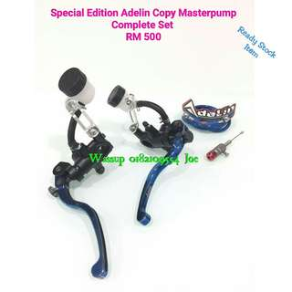 Special Edition Copy Adelin Masterpump (Lever Original) Complete Set