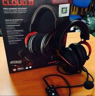 cloud2 pro gaming headset
