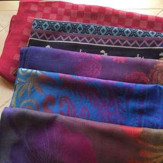 Shawls or scarfs