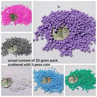 8/O Glass Seed Beads