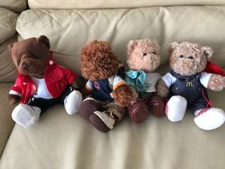 McDonalds Bear Collection!