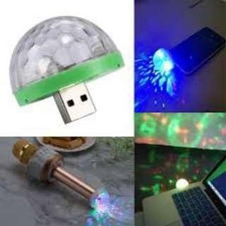 LED small magic ball 4w sound control