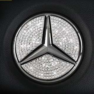 Mercedes Benz Crystal Bling