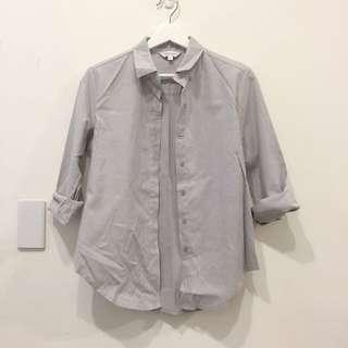 🚚 Starmimi 淺灰襯衫