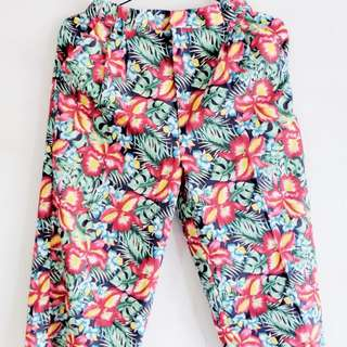 Floral pallazo pants