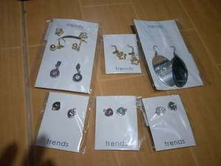 Trends earrings