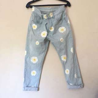 Floral highwaisted Pants