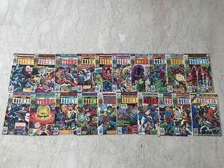 Marvel-The Eternals (complete 1976 series)