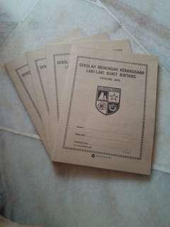 Bukit Bintang Boys School Set of 4 Exercise Book