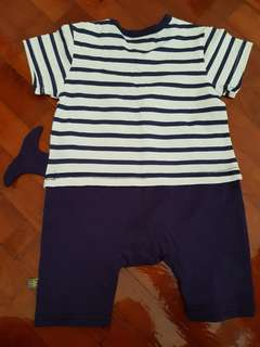 New boy clothes for 6 - 12 months Romper