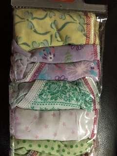 New : 6pcs Girls Underwear