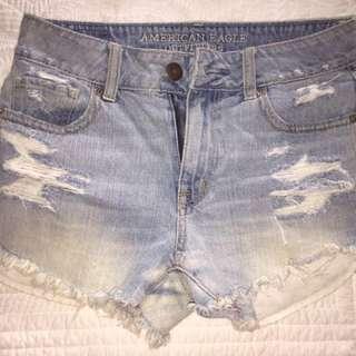 Denim Shorts From AE