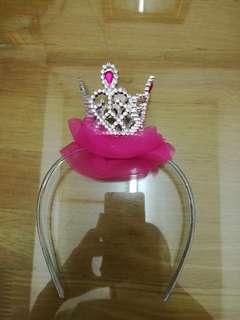 Pink Crown Free Size