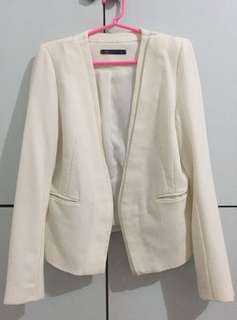 M&S White Blazer (FREE SF)
