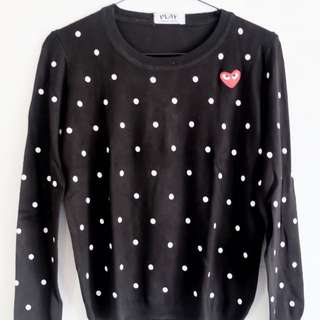 CDG Sweater (Made In bangkok)