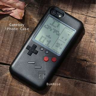 Gameboy Console iPhone Case 👾👽