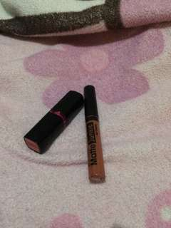 Lipstick silky girl + lipstick maybelline