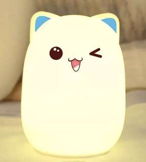 Bud bear silicone lamp