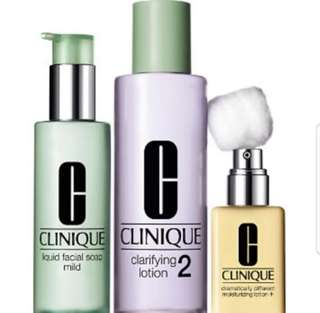 Clinique 3step Set
