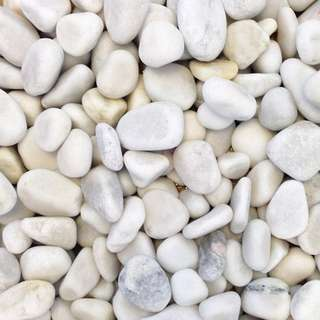 White/Grey Pebbles for Gardening or Fish Tank - 2cm to 5cm