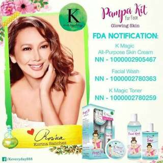 PampaKit for Face Glowing skin by Korina Sanchez