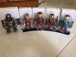 Iron Man Egg Attack Toy