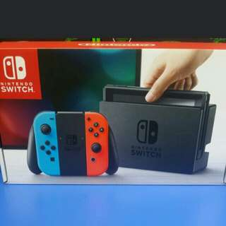 Nintendo Switch Neon Console cash and carry