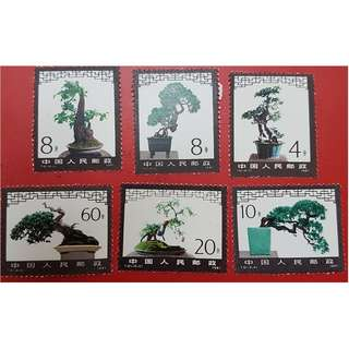 1981 China Stamp 中国邮票 T61 Miniature Landscape set of 6