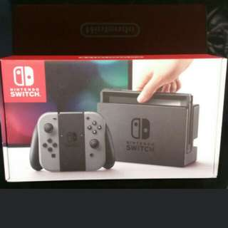 Nintendo Switch Grey cash and carry