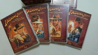 Indiana Jones DVD Set (Region 4)