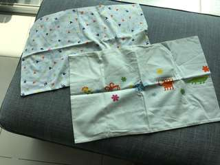Quilt cover / pillowcase for babycot