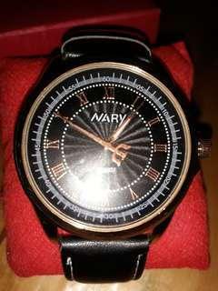 Nary leather watch