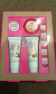 Hand scrub cream kit